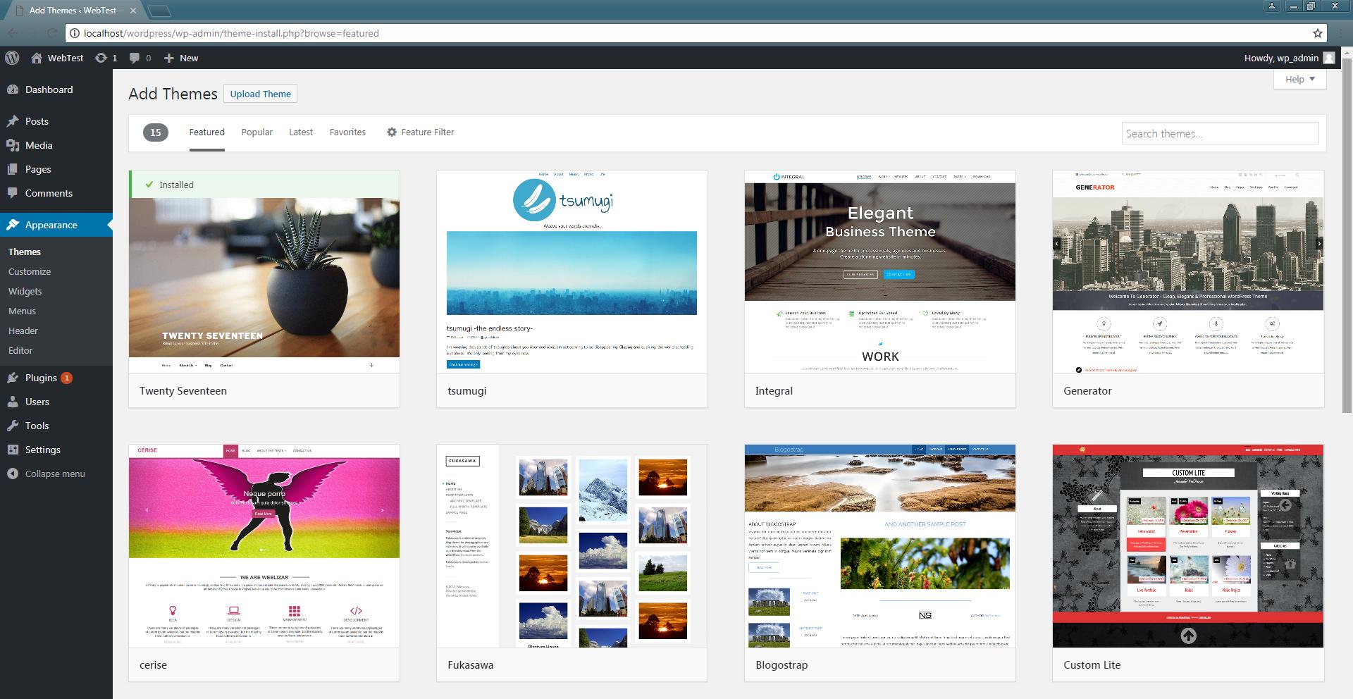 Free Themes WordPress1