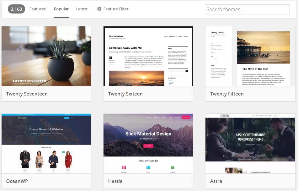 Themes Free WordPress