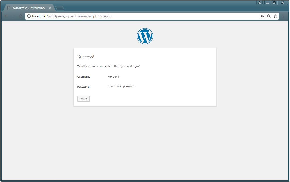 install WordPress 3