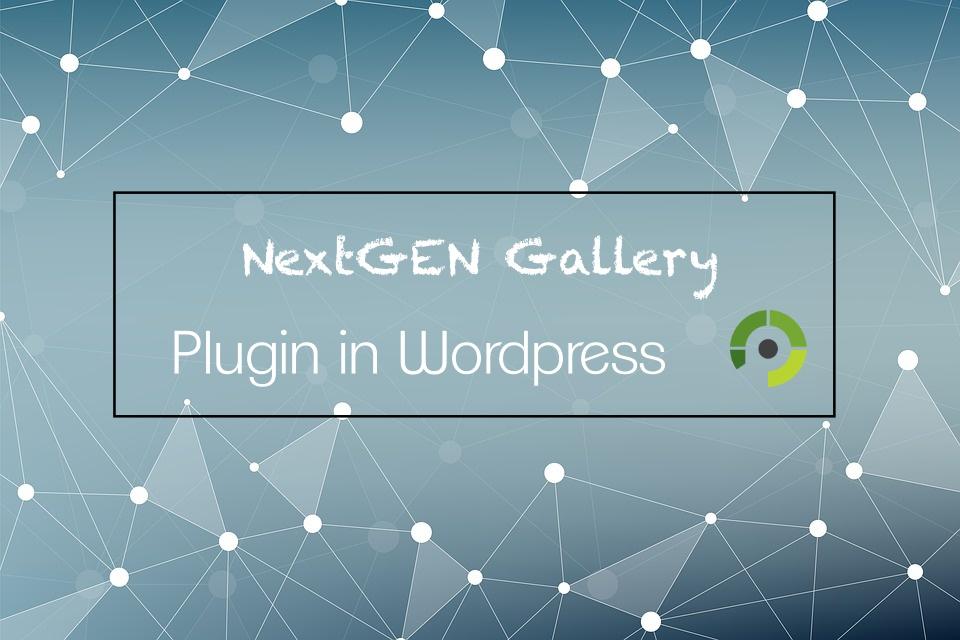 การใช้ Plugin NextGEN Gallery แบบเบื้องต้น